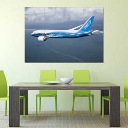 Boeing 787 Jumbo Aeroplane  Block Giant Wall Art Poster (P-2418)