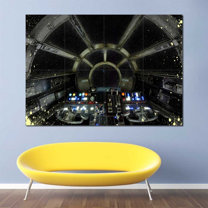STAR WARS  GIANT WALL POSTER ART PICTURE PRINT LARGE