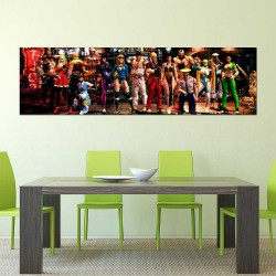 Street Fighter Video Game Block Giant Wall Art Poster (P-2447)