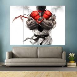 โปสเตอร์ ขนาดใหญ่  Street Fighter Ryu  (P-2448)