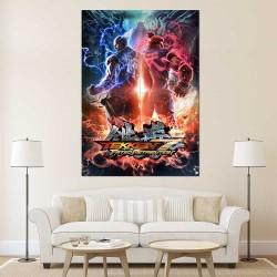 Tekken 7 Akuma vs Heihachi Block Giant Wall Art Poster (P-2449)