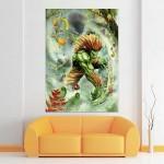 Blanka Street Fighter X Tekken  Block Giant Wall Art Poster