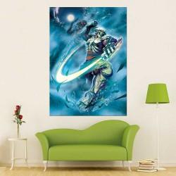 Yoshimitsu Street Fighter X Tekken Block Giant Wall Art Poster (P-2452)