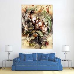 Jack-X Street Fighter X Tekken  Block Giant Wall Art Poster (P-2454)