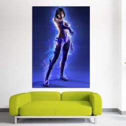 Tekken 7 Unknown Jun Kazama Devil Form Block Giant Wall Art Poster (P-2458)