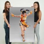Ling Xiaoyu Tekken 7 Block Giant Wall Art Poster