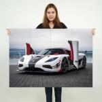 โปสเตอร์ ขนาดใหญ่ Koenigsegg , Agera RS , Supercar , Drift Car , race car , Sports Car , รถ , รถยนต์  , ซุปเปอร์คาร์ ,  รถสปอร์ต
