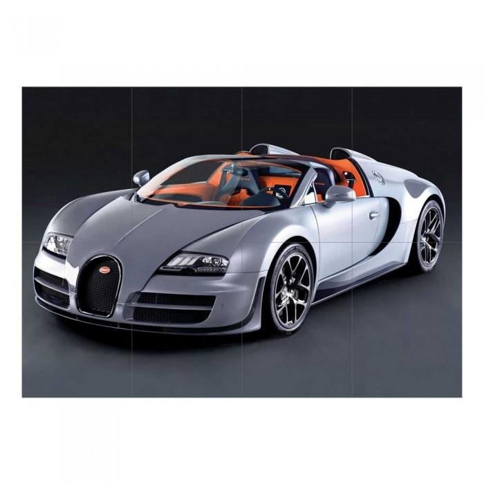Bugatti Supercar: Bugatti Veyron Super Sport Car Supercar Block Giant Wall