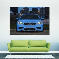 BMW M5 Sport Car  Block Giant Wall Art Poster (P-2471)