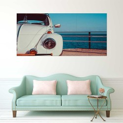 VW Volkswagen Beetle Bug Camper Block Giant Wall Art Poster (P-2486)