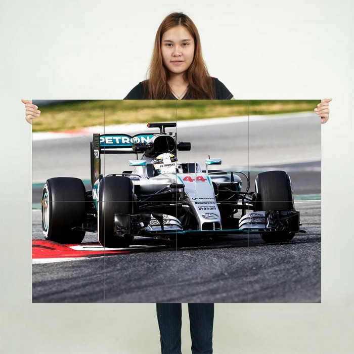 FORMULA ONE MOTOR RACING F1 POSTER ART PICTURE PRINT LARGE HUGE