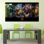 DotA 2 online Game Block Giant Wall Art Poster