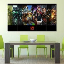 DotA 2 online Game  Block Giant Wall Art Poster (P-2502)