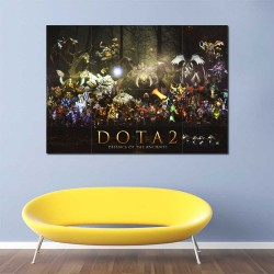 Dota 2 Defence of the Ancients  Block Giant Wall Art Poster (P-2504)