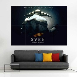 Sven Dota 2  Block Giant Wall Art Poster (P-2512)