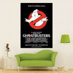 Ghostbusters Block Giant Wall Art Poster