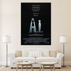A.I. Artificial Intelligence Movie Block Giant Wall Art Poster (P-2516)