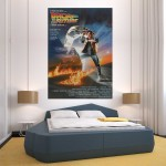 Back to the Future Movie Block Giant Wall Art Poster
