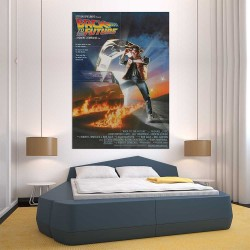 Back to the Future Movie Block Giant Wall Art Poster (P-2517)