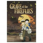 Grave of the Fireflies Movie Block Giant Wall Art Poster