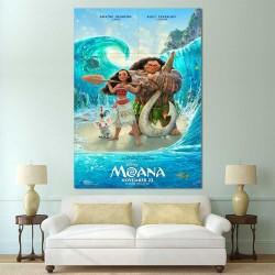 โปสเตอร์ ขนาดใหญ่ Disney Moana โมอาน่า ผจญภัยตำนานหมู่เกาะทะเลใต้ (P-2521)