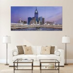 Mecca Makkah Block Giant Wall Art Poster