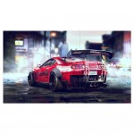 Toyota Supra Need for Speed Car Block Giant Wall Art Poster