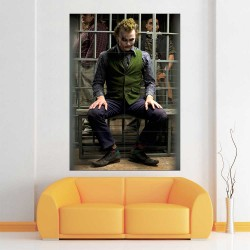 Joker Heath Ledger Block Giant Wall Art Poster (P-2564)