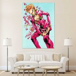 Jojo's Bizarre Adventure Golden Wind Block Giant Wall Art Poster