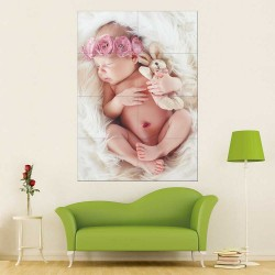 Kids Baby Children Picture serie 7 Block Giant Wall Art Poster (P-2600)