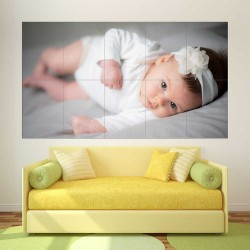 Kids Baby Children Picture serie 8  Block Giant Wall Art Poster (P-2601)