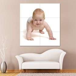 Kids Baby Children Picture serie 17 Block Giant Wall Art Poster (P-2610)