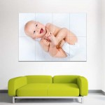 Kids Baby Children Picture serie 19 Block Giant Wall Art Poster