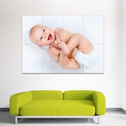Kids Baby Children Picture serie 19  Block Giant Wall Art Poster (P-2612)