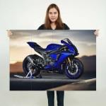 Yamaha YZF R1 motorcycle Block Giant Wall Art Poster