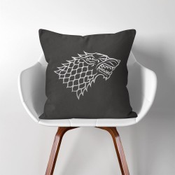 House Stark Sigil Game of Thrones  Linen Cotton throw Pillow Cover (PW-0004)