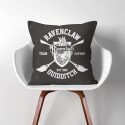 Harry Potter Ravenclaw Quidditch  Linen Cotton throw Pillow Cover (PW-0015)