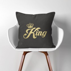 King  Linen Cotton throw Pillow Cover (PW-0031)