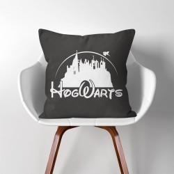 Disney Hogwarts Castle Harry Potter  Linen Cotton throw Pillow Cover (PW-0038)