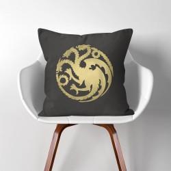 ปลอกหมอนอิง ภาพ ทาแกเรียน เกมออฟโทรน Targaryen Game of throne  (PW-0051)