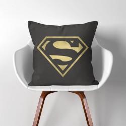 Superman Super hero  Linen Cotton throw Pillow Cover (PW-0060)