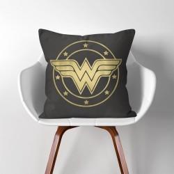 Wonder Woman  Linen Cotton throw Pillow Cover (PW-0061)