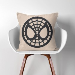 Spiderman Super Hero  Linen Cotton throw Pillow Cover (PW-0062)