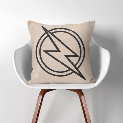 The Flash Super Hero  Linen Cotton throw Pillow Cover (PW-0064)