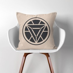 Iron Man Arc Reactor  Linen Cotton throw Pillow Cover (PW-0067)
