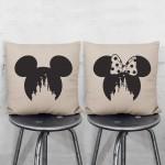 Disney Schloss Micky Minie Maus Kissenbezüge Paare