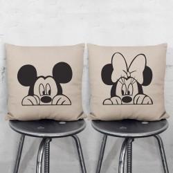 Disney Mickey Minnie Mouse Pair Pillowcases Set (PW-0085)