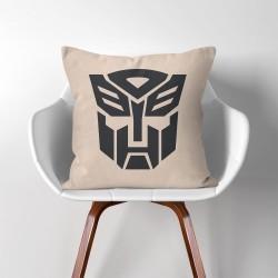 Transformers Autobot Logo  Linen Cotton throw Pillow Cover (PW-0089)