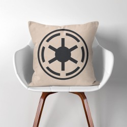 The Galactic Republic star wars  Linen Cotton throw Pillow Cover (PW-0123)