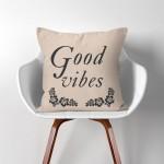 Good vibes Kissenbezüge  Kissenhüllen